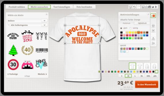 Geburtstags T-Shirt mit Druck Selbst Gestalten