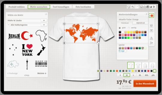 Stadt T-Shirt mit Druck Selbst Gestalten