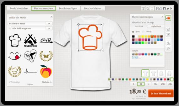 Beruf T-Shirt mit Druck Selbst Gestalten